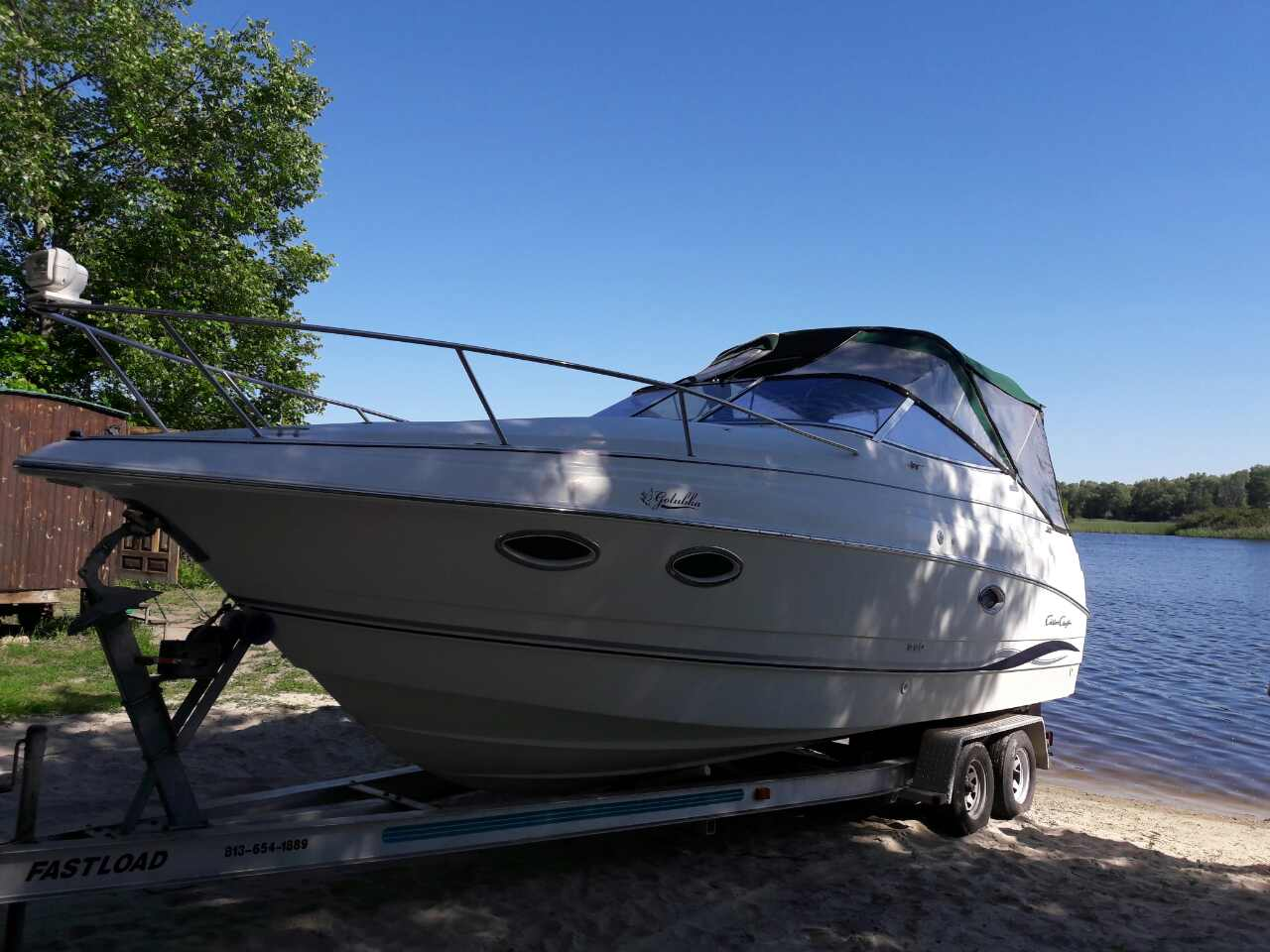 Продам БУ катер Chris-Craft 250
