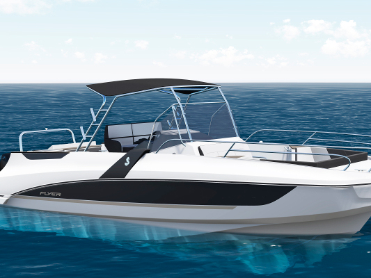 Катер Beneteau Flyer 8.8 SPACEdeck