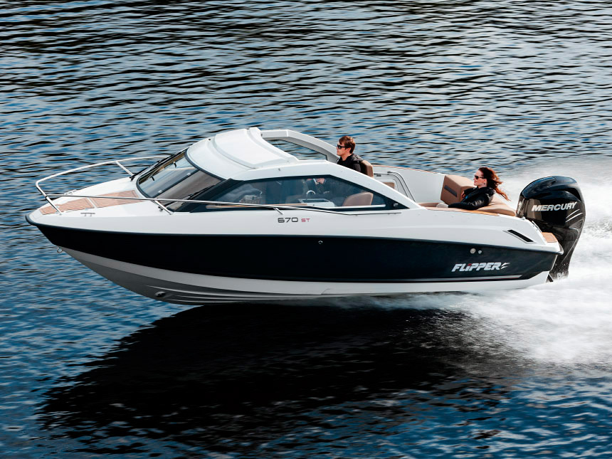 Катер Flipper 670 ST
