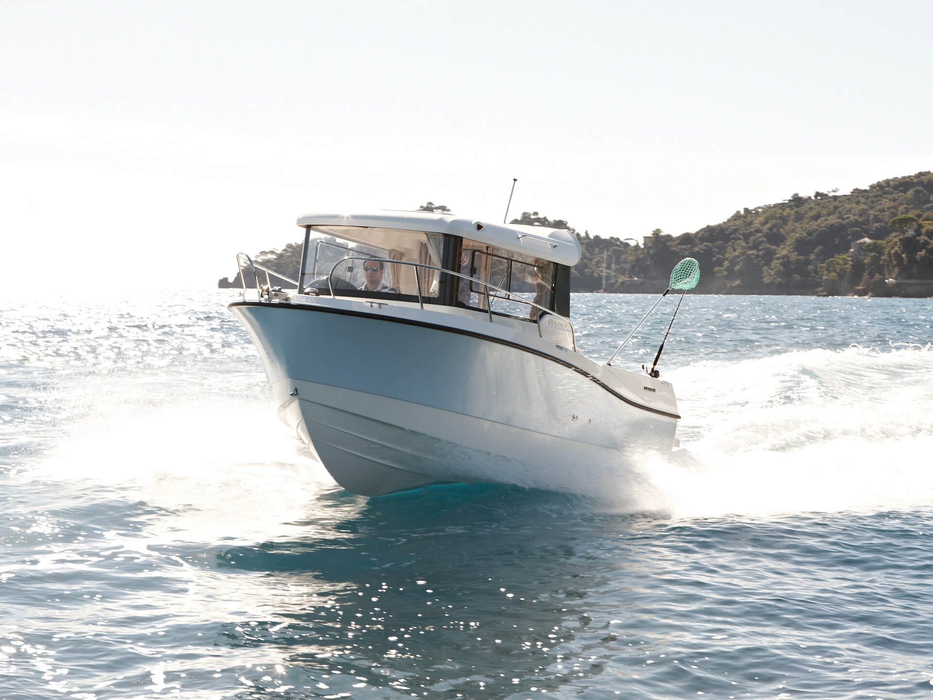 Катер Quicksilver 675 Pilothouse