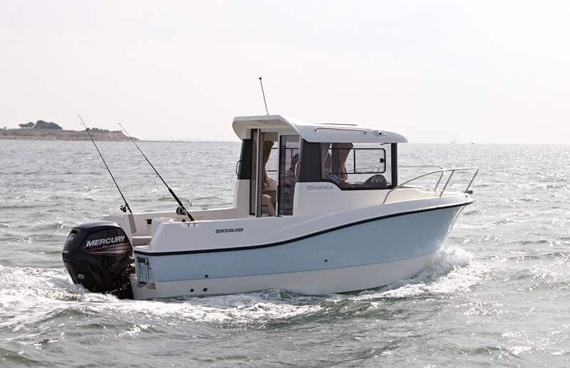 Катер Quicksilver 555 Pilothouse