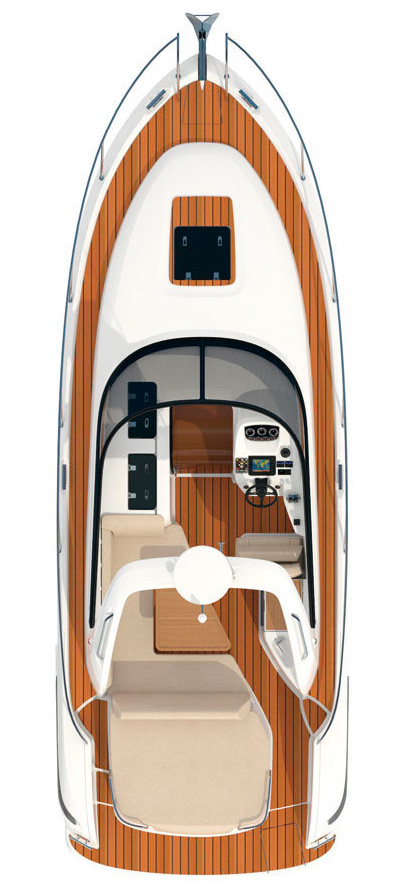 Cхема катера Bavaria Sport 29