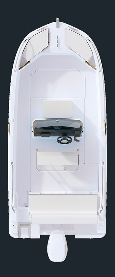Схема катера Beneteau Flyer 5.5 SPACEdeck