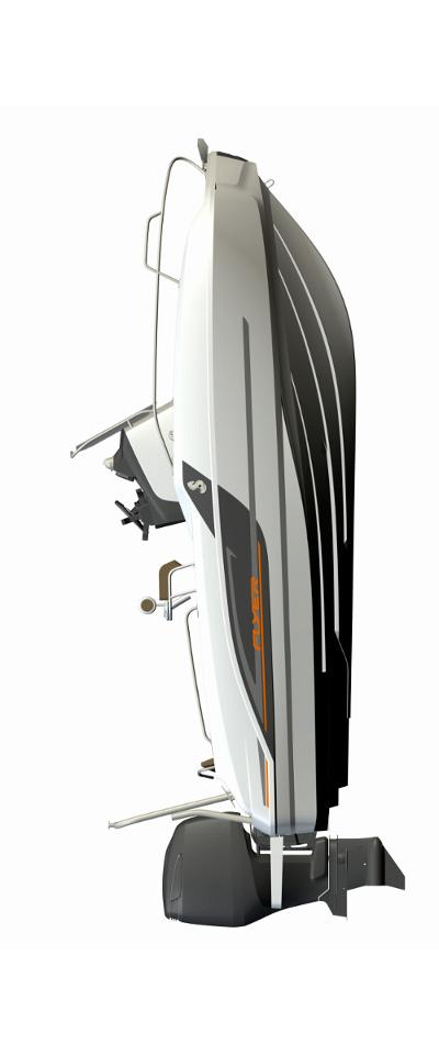 Схема катера Beneteau Flyer 5.5 SUNdeck