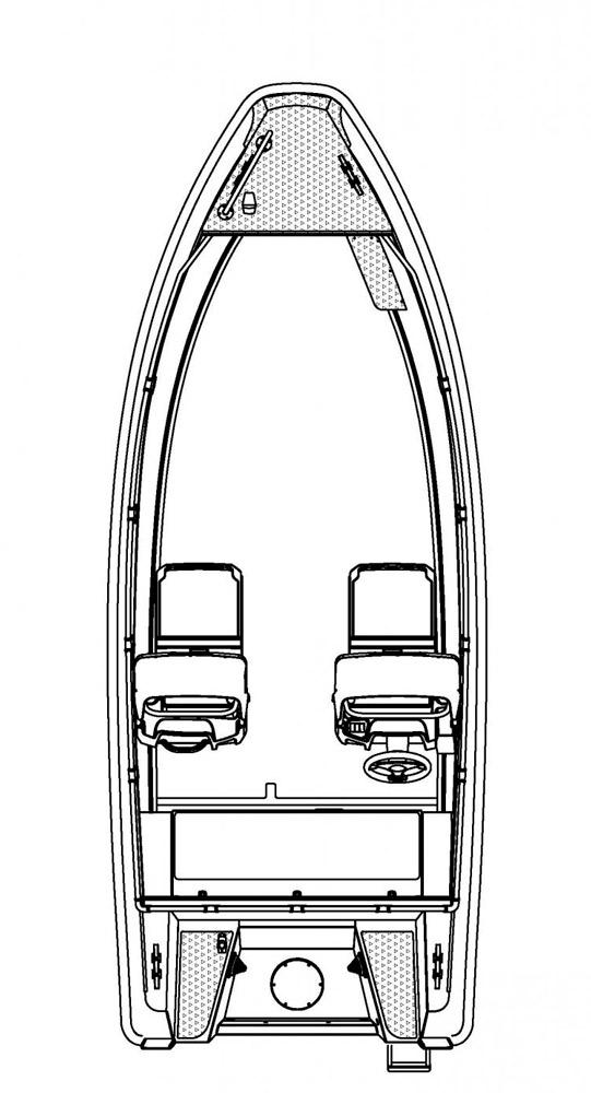 Схема катера Buster L