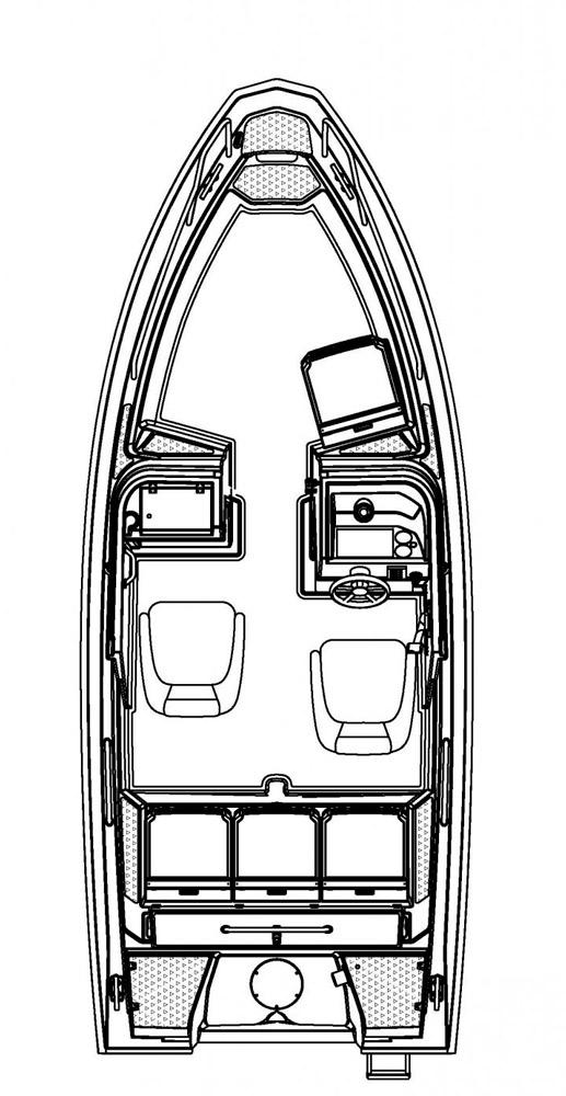 Схема катера Buster Le