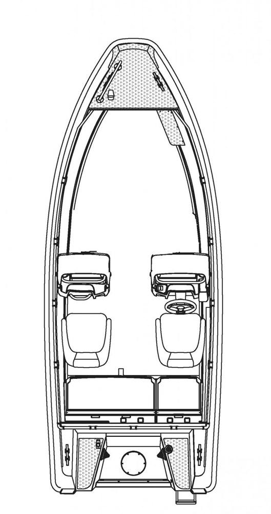 Схема катера Buster Lx
