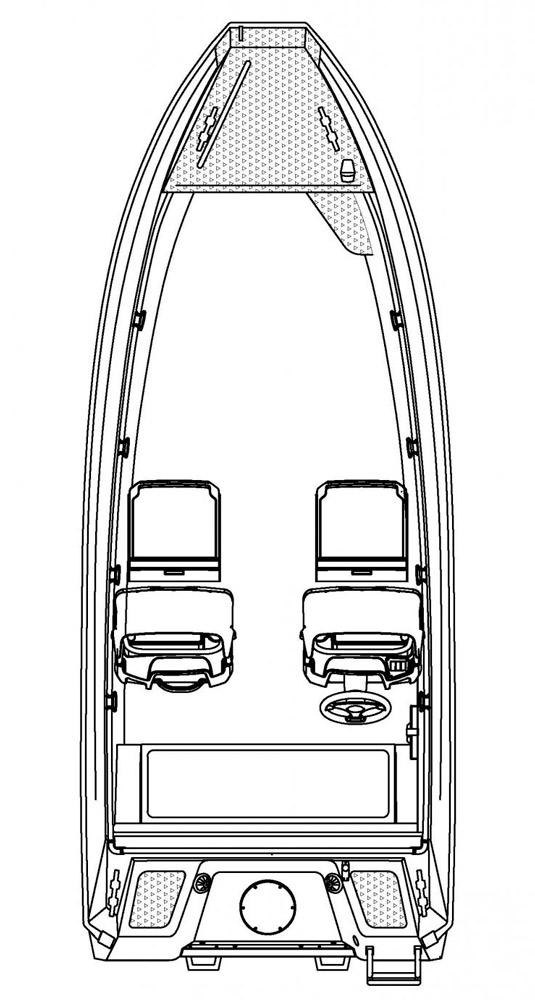 Схема катера Buster M