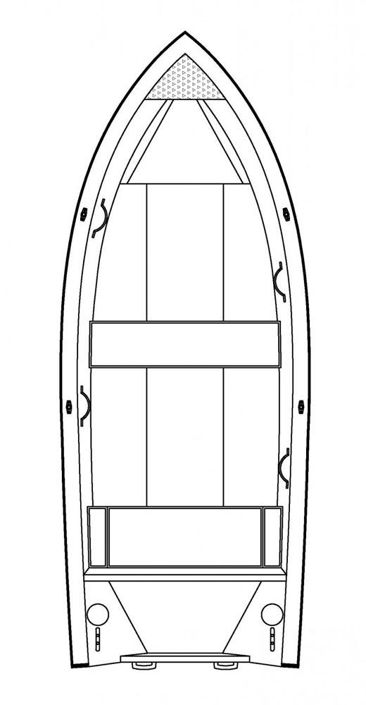 Схема катера Buster XS / XSr