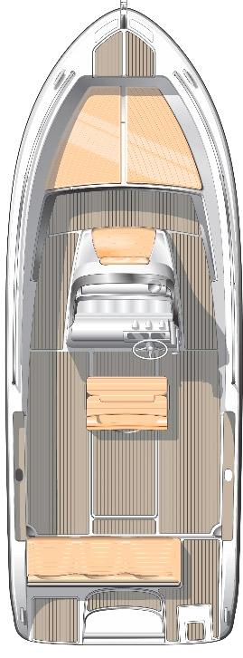 Схема катера Elan Fishingline 650 CC