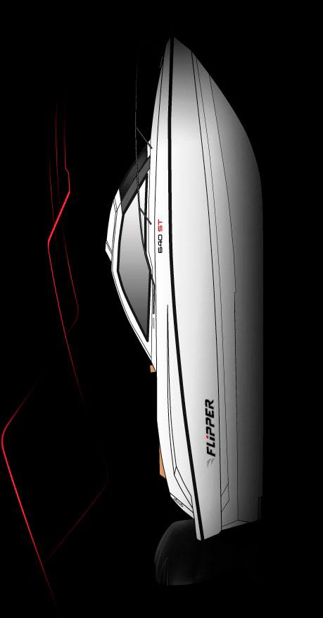 Схема катера Flipper 640 ST