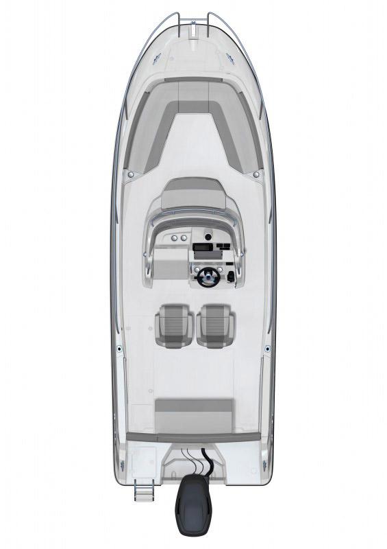 Схема катера Jeanneau Cap Camarat 7.5 CC Serie 2