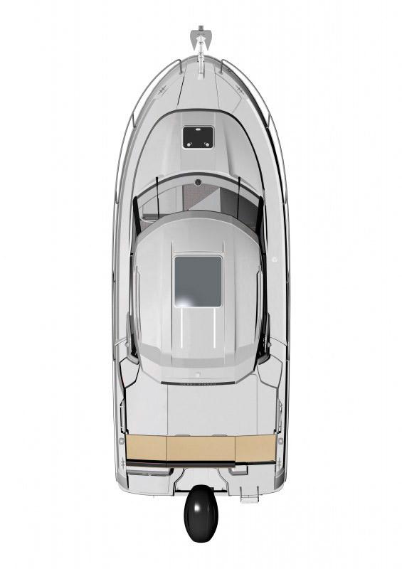 Схема катера Jeanneau Merry Fisher 795