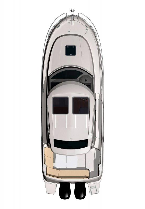Схема катера Jeanneau Merry Fisher 855