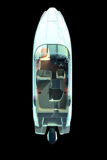 Схема катер Nordkapp Noblesse 790