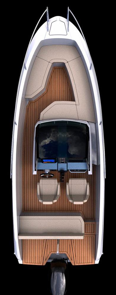 Схема катера Parker 630 Sport