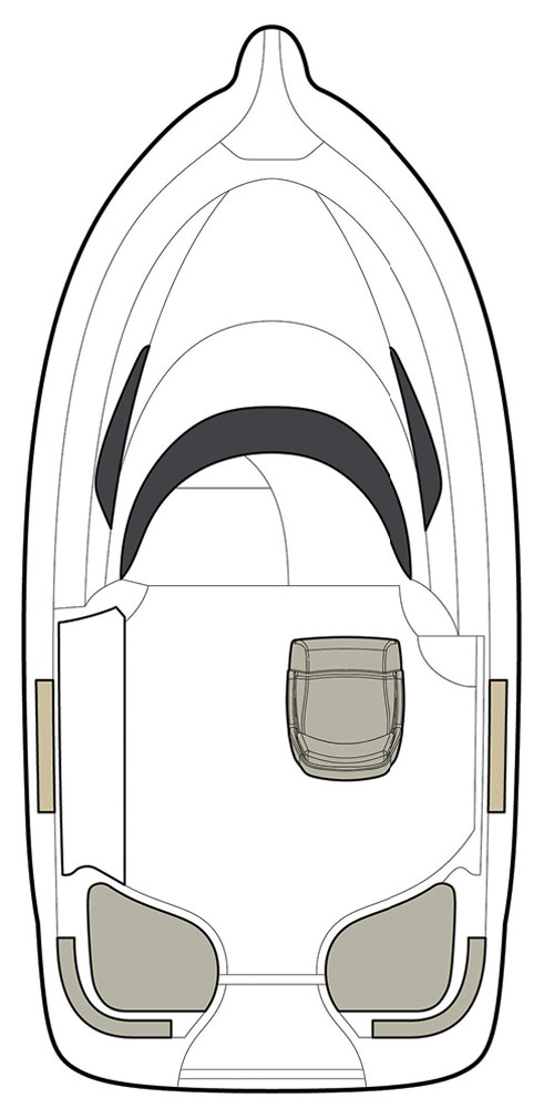 Схема катера Quicksilver Activ 470 Cabin