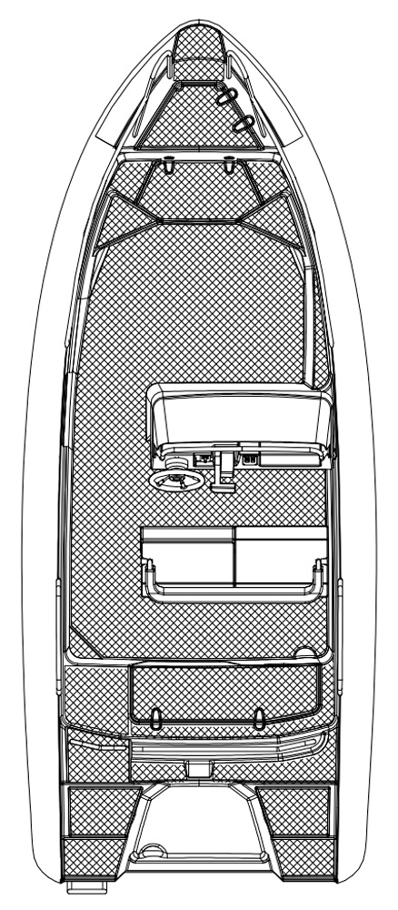 Схема катера Silver Wolf Avant 510