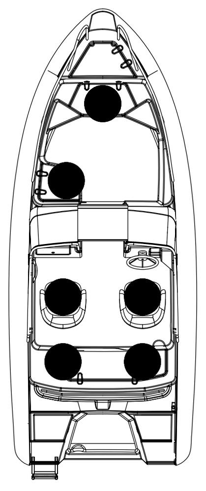 Схема катера Silver Wolf BR 510