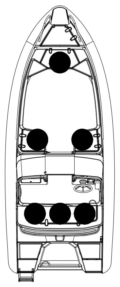 Схема катера Silver Wolf DC 510