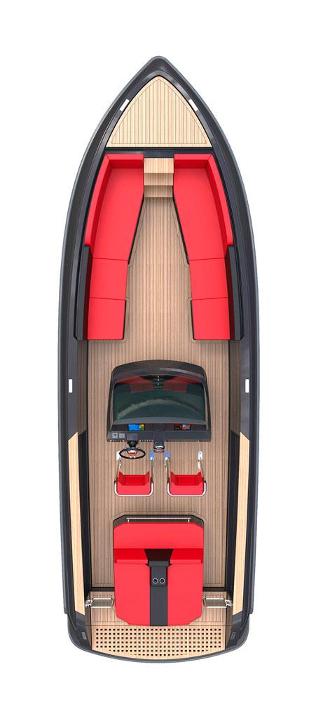 Схема катера Windy SR28
