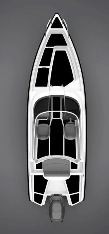 Схема катера Xo 240 RS I/0