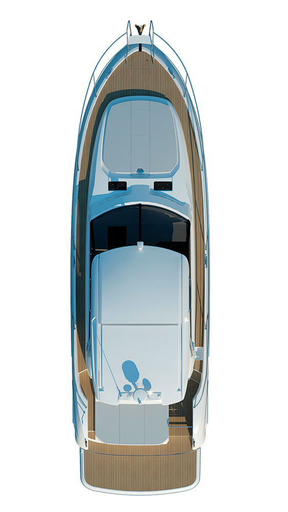 Схема яхты Bavaria Sport 450 Coupe