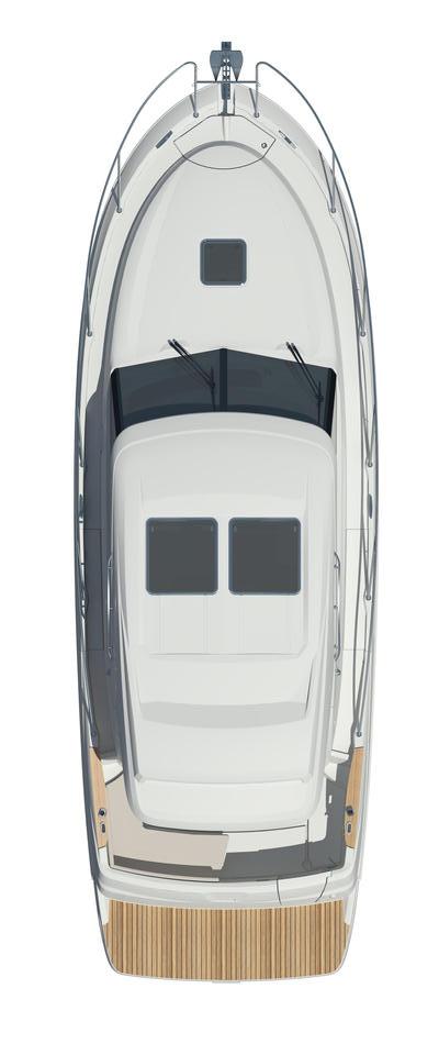 Схема яхты Beneteau Antares 30 S