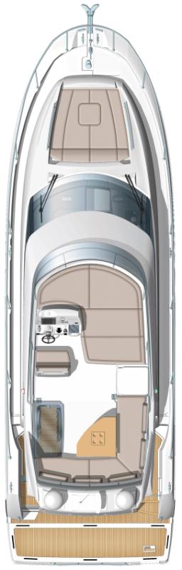 Схема яхты Prestige 450