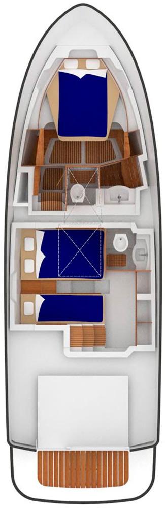 Схема яхты Sargo 36