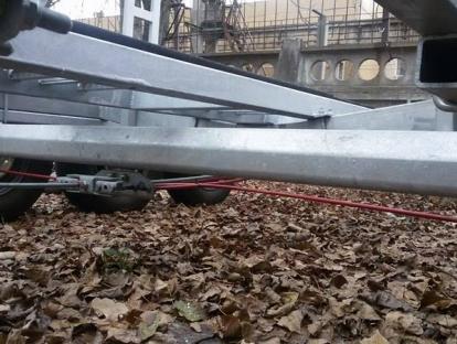 Лодочный прицеп под катер до 4,5т