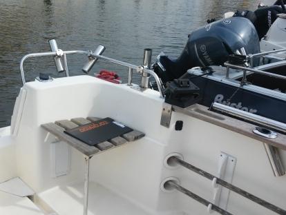 Продам бу катер Arvor 230 дизель
