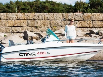 Катер Sting 485 S