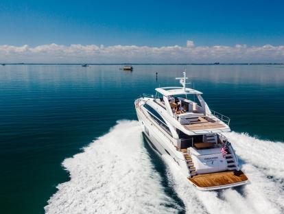 Яхта Princess 82 MY