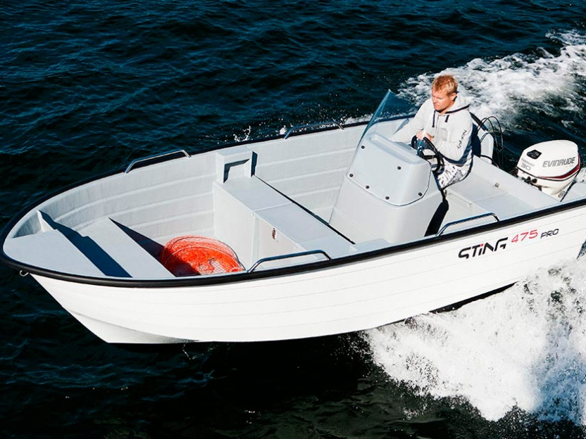 Катер Sting 475 Pro