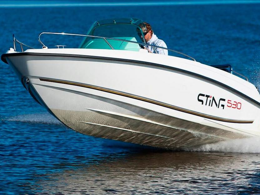 Катер Sting 530