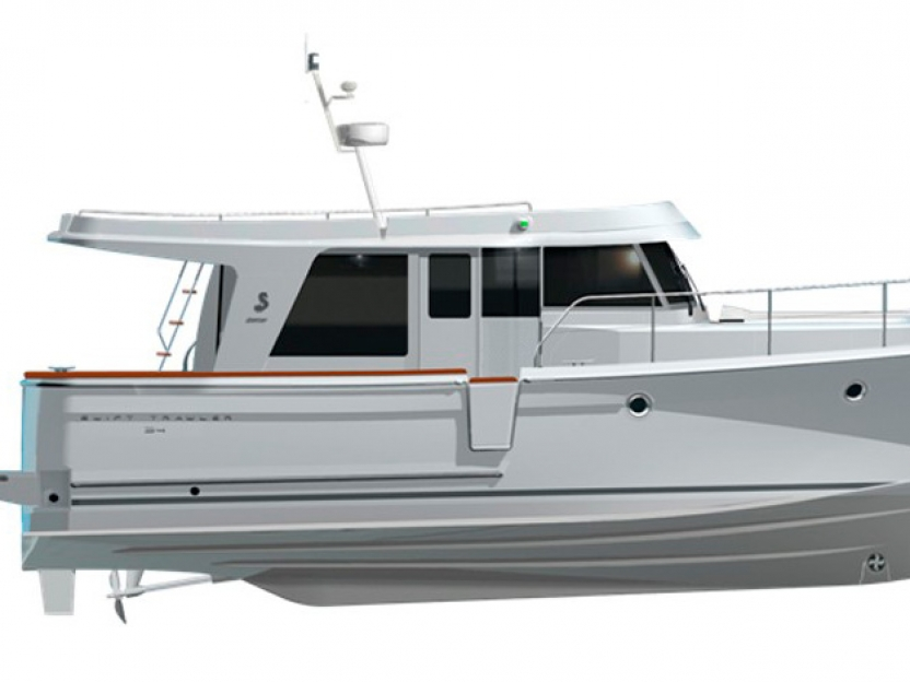 Яхта Beneteau Swift Trawler 34S