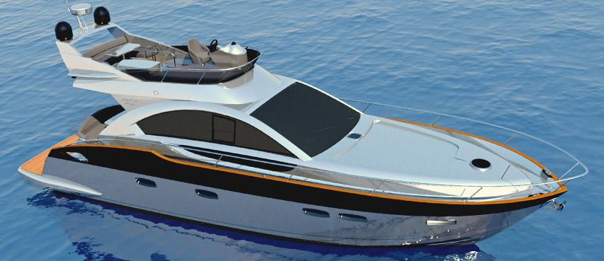 Яхта Pearlsea 56 Fly