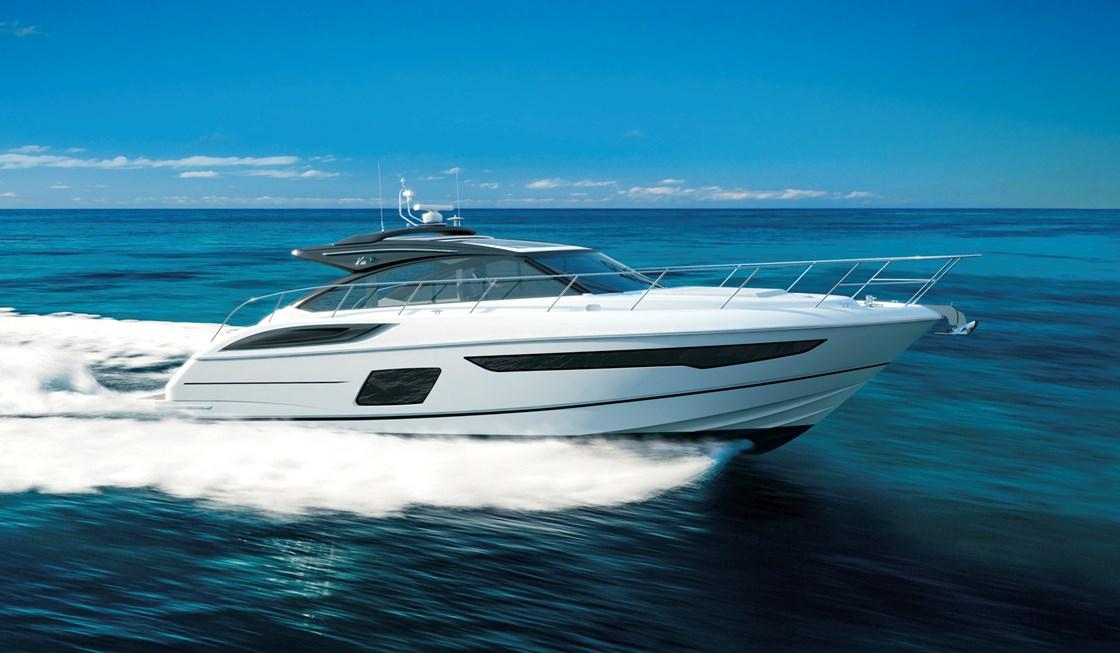 Яхта Princess V58