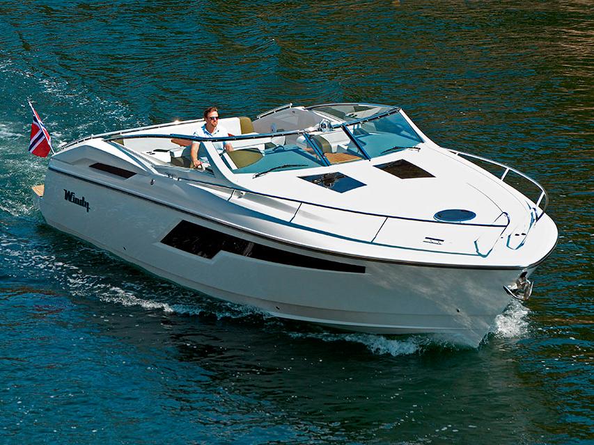 Яхта Windy 39 Camira