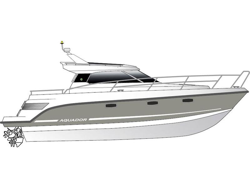 Яхта Aquador 35 HT