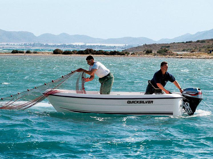 Катер Quicksilver 410 Fish