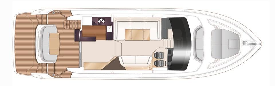 Яхта Princess 55