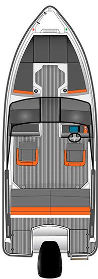 Схема катера Bella 600 BR