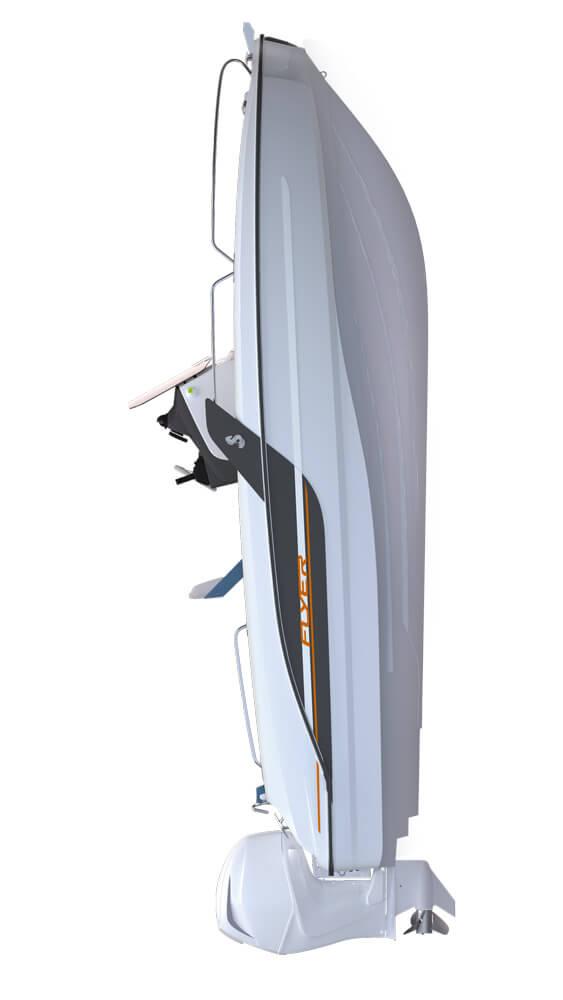 Схема катера Beneteau Flyer 6.6 SPACEdeck