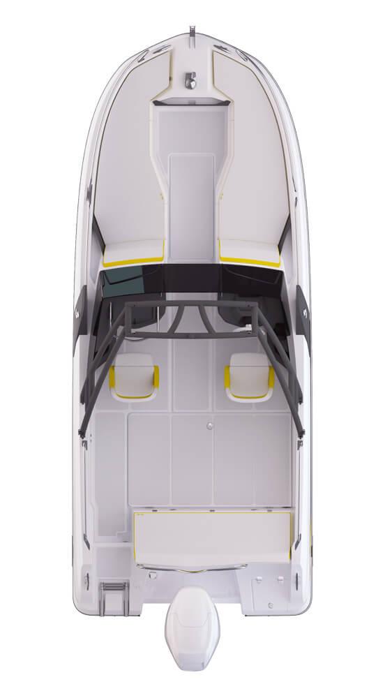 Схема катера Beneteau Flyer 6.6 SPORTdeck