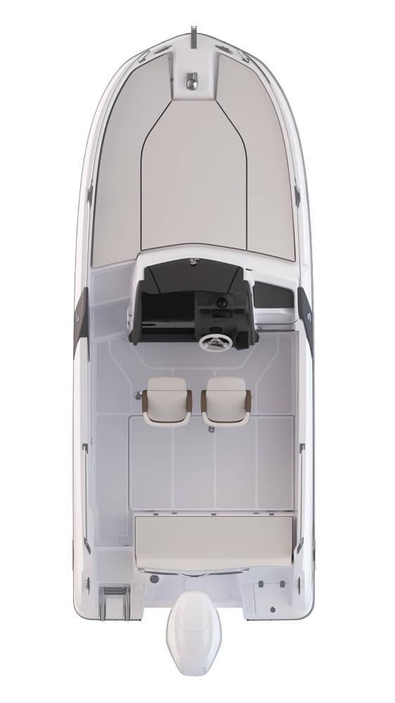 Схема катера Beneteau Flyer 6.6 SUNdeck