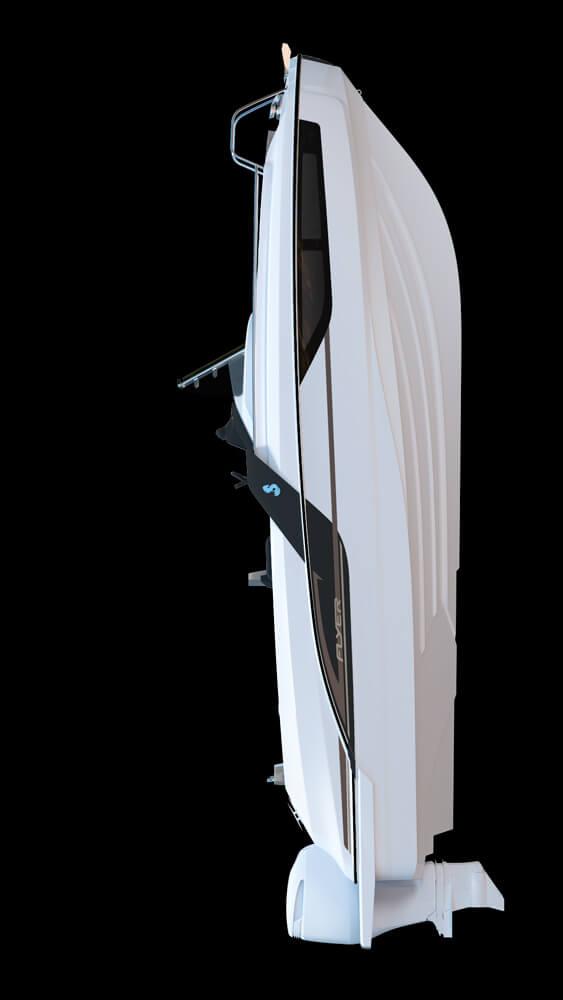 Схема катера Beneteau Flyer 7.7 SUNdeck