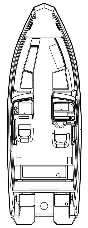 Cхема катера Buster Magnum