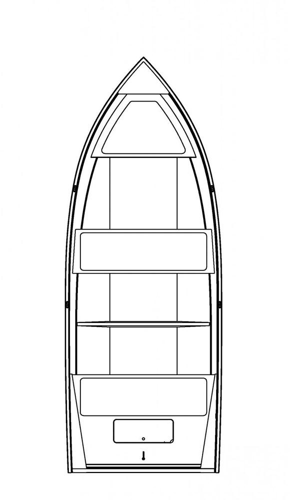 Схема катера Buster Mini